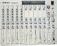 Table de mixage studio